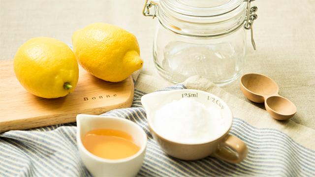 シロップ レシピ レモン